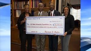 SC State University receives generous donation from alumnus | WCIV