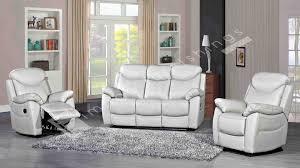 Light Grey Leather Recliner Sofa Bradshaw Leather 1 Seater Recliner Sofa Light Grey