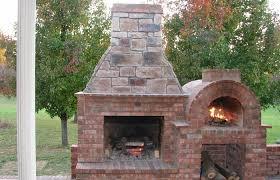 wood fired pizza oven outdoor fireplace regarding aztec italian