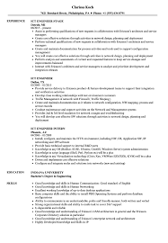 Ict Specialist Sample Resume Ict Engineer Resume Samples Velvet Jobs 19