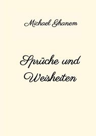Sprüche Und Weisheiten Michael Ghanem Buch Jpc