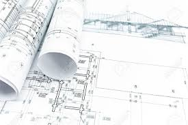 architectural engineering blueprints. House Sketch With Engineering And Architecture Blueprints Stock Photo - 41293320 Architectural