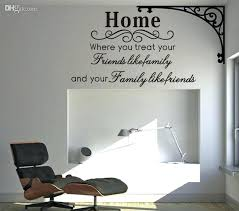 wall art writing stickers home family friends spiritual wall e decal decor sticker lettering saying vinyl