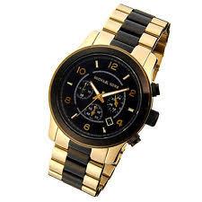 michael kors men s watch in gold michael kors runway chronograph mk8265 wrist watch for men