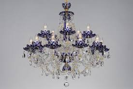 exquisite blue crystal chandelier 21 charming 20 adscentury com puzzle flower lamp