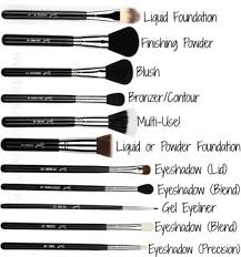 makeup brushes set and their uses. diffe types of makeup brushes their uses beauty trusper tip set and 6