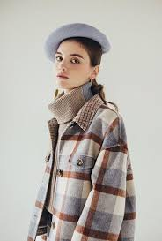 Stockholm Wool <b>Jacket</b> - Blue – Petite Studio