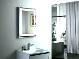 lighted bathroom mirror wall mount mounted vanity with lig