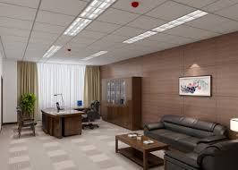 office decoration pictures. Natural Modern Interior Office Decoration Architecture That Has Black Sofas With Wooden Coffee Table On Pictures O