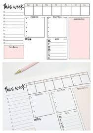 Weekly Calendar.pdf … | Diy | Pinte…
