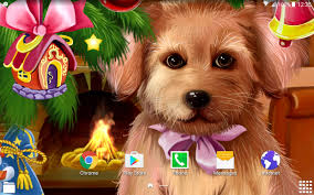 If you do not find the exact resolution you are looking for, then go for a native or higher. Christmas Puppy Live Wallpaper 1 0 7 Download Android Apk Aptoide