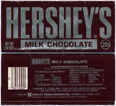 hershey candy bar wrapper hersheys milk chocolate 20 cent bar wrapper 1 35 ozs 19 flickr
