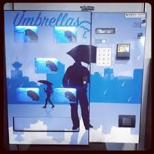 Umbrella Vending Machine Uk Inspiration Vending Machines You Didn't Know You Needed Dope Fun