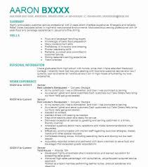 Resume For Servers Best Server Resume Example Livecareer