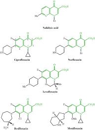quinolone antibacterial agents