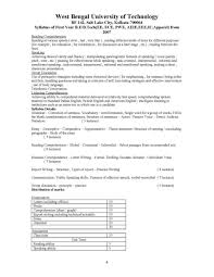 wbut b tech first year st semester exam syllabus  for full syllabus here is the attachment