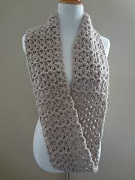 Crochet Infinity Scarf Patterns Simple Design