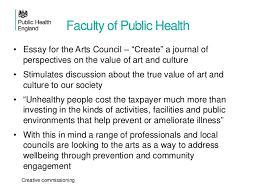 public health england on cultural commissioning  creative commissioning 11 faculty of public health • essay