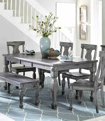 improbable size dining room grey wallpaper black s white and table chairs set grey dining table