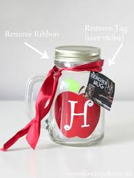 teacher gift ideas monogram mason jar vase free chalkboard printable gift s