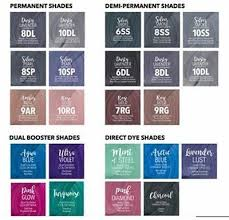 Guy Tang Color Chart New Guy Tang Color Mydentity Hair Color Direct Dye Demi