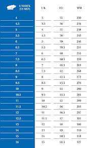 Bell Size Chart