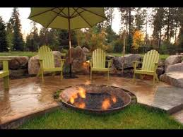 Patio Design Ideas With Fire Pits fire pit patio design ideas pictures