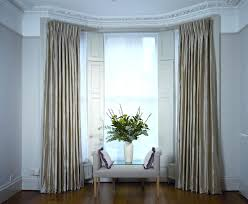 curtains for wide windows classy window treatments for wide windows combined with sofa bench and decorative curtains for wide windows