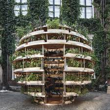 Indoor Garden Design Ideas Custom Ikea Lab Releases Free Designs For A Garden Sphere That Feeds A