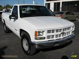 white chevy trucks 1995. Fine 1995 White  Blue Chevrolet CK 2500 K2500 Regular Cab 4x4 Intended Chevy Trucks 1995 2