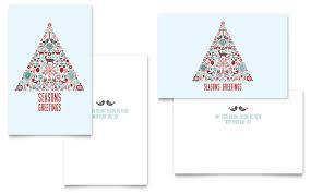 Happy Holiday Card Templates Holiday Seasonal Greeting Card Templates Design Examples