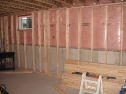 framing a basement wall. Clever Design Framing A Basement Wall Against Concrete Corner