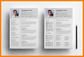 8+ Two Pages Resume Samples | Job Apply Form