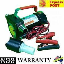 12v <b>Fuel Oil</b> Diesel <b>Transfer</b> Pump Fluid Heavy Duty <b>40</b> L/<b>min</b> ...