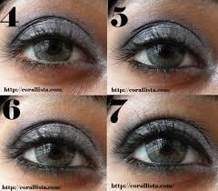 a l oreal paris eye makeup tutorial silver and black y eyes