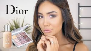 get ready with me using the new dior backse collection