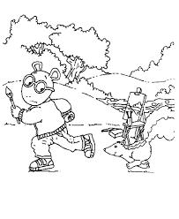 Arthur Coloring Pages - GetColoringPages.com