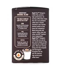 Add 2 tablespoons of rapid fire keto coffee or slim tea or beauty tea sachet into a mug. Rapid Fire Keto Coffee Pods Fitking