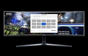 You can also upload and share your favorite 5120x1440 wallpapers. 49 Curved Monitor Chg90 With A Super Ultra Wide Screen Lc49hg90dmnxza Samsung South Africa