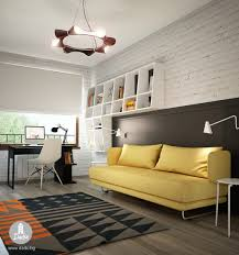 Teen Room Designs: Cool Teen Basement Bedroom - Teen Room Design