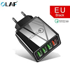 <b>OLAF</b> 3.0 USB Charger QC3.0 <b>Fast Charging</b> Mobile Phone ...