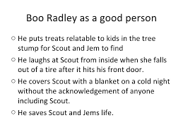 tkam boo radley essay why is boo radley a mockingbird essay example for