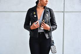 how to style a forever21 leather jacket under 50 with pins