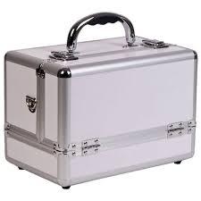 makeup ideas makeup suitcase sunrise 3 tier expandable tray white makeup case free