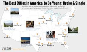 15.2% cost of living for retirees: The 20 Best Cities In America To Be Young Broke And Single Money Under 30