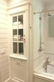 linen cabinet plans bathroom linen cabinet photo of best bathroom linen cabinet ideas on wonderful corner