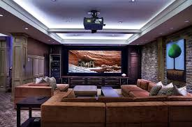 The Living Room Theater Decoration