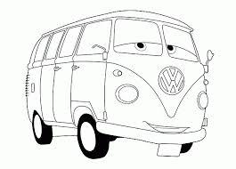 Fillmore Disney Cars Disegno Da Colorare E Stampare Disegni Da