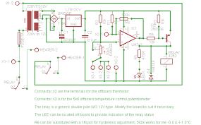 craig s thermostat circuits andrew s craig s schematic
