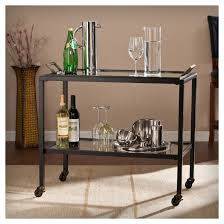 mini bar trolley cocktail bar cart drink serving cart metal wood bar cart pewter bar cart